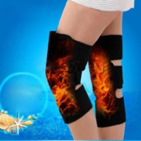 Wholesale 1 Pair self heating Tourmaline knee pads Magnetic Therapy knee support tourmaline heating Belt knee Massager
