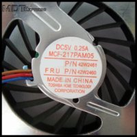 Wholesale New CPU Laptop Cooler Cooling Fan Pins for IBM Lenovo Thinkpad T60 T60p T61 PN MCF PAM05 R9434 V9932 F0125