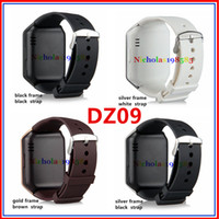 Wholesale DZ09 VS PK U8 GT08 A1 GV18 Q18 Apple Fitbit Watch Smart Watch Bluetooth Smartwatch Wrist Watches For Phone Support Camera SIM Card TF Card