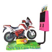 amusement park machines - The Latest Amusement Park Equipment Kids Electric D Moto Motorbike coin operated arcade game machine ride on motorcycle