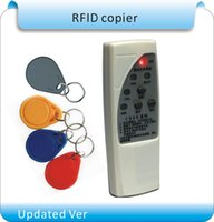 Wholesale ver frequency RFID Copier Duplicator Cloner ID EM reader writer EM4305 writable keyfob