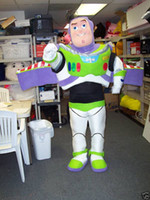 Wholesale New Style Cartoon Buzz Lightyear funny man Halloween Adult Animal mascot costume foam costumes