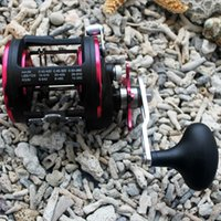 bearing casters - Fishing Baitcasting Bait Caster Ball Bearing Trolling Boat Reel Lure Tackle Fishing Reels Trolling Boat Reel Wheel