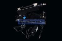 al por mayor sex machine female-Sex Toy completa arma automático del cañón de la ametralladora Masturbación Máquina para la hembra de la ametralladora del amor del juguete del sexo Color Negro