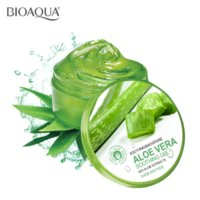 acid organic - PURE ORGANIC ALOE VERA GEL Cream Hyaluronic acid mask Soothing amp Moisture Remove Acne Hydrating Whitening Oil control skin care