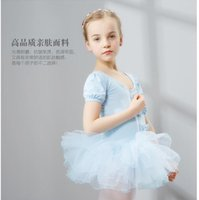 Wholesale 2016 New children dance costumes princess ballet tutus dress stage wear competition practicing dancing gauze dress clothes dance clothing