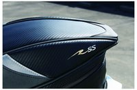 Wholesale how yes new model motorcycle last bag tail bag racing bag about L black color RR9014 send waterproof cover