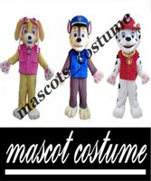 Wholesale Patrol dog character mascot costume Chase marshall skye mascot costume cartoon character mascot suit
