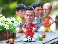 baby ronaldo - New Toy doll piggy bank Mr Aimard messi cristiano ronaldo robben the Netherlands Wedding Gift Baby gift Money Bank