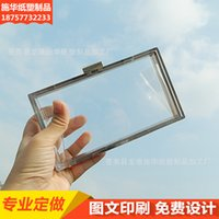 Wholesale Of Large Number Transparent Plastic Box Square Plastic Transparent Box Amount Will Excellent Price