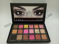 beauties factory eyeshadow - Factory Direct DHL New Arrivals HOT Makeup Huda beauty color eyeshadow palette