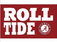 alabama roll tide - Alabama Crimson Tide flags ROLL TIDE x150cm polyester digital print banner with Metal Grommets x5ft