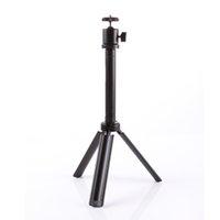 Mini recorrido al aire libre portable del monopio del trípode de Ballhead del grado 360 para la cámara DV CC