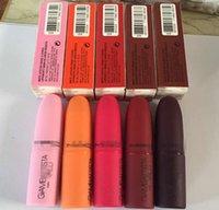 Wholesale Brand Makeup Gia Valli Matte Lipstick Luster Lipgloss Frost Lipstick Matte Lipstick Collection Colors Lipstick