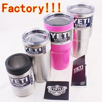 beer quality - 30oz oz Yeti Cups Cooler YETI Rambler Tumbler Cup Vehicle Beer Mug Double Wall Bilayer Vacuum Insulated ml ml High Quality Factory