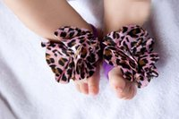 baby garter - 2016 Baby Kids Foot Wear Multi Colors Toddler Flower Barefoot Foot Ties Cute Baby Infant Garter Feet Band Foot Strap