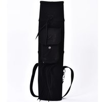 backpack arrow quiver - Free shopping pc backpack arrow quiver for holding arrows black suede leather arrow bag holder