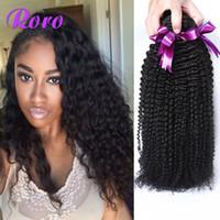 Wholesale Curly Human Hair Weave Bundles Cheap Brazilian Hair in Bulk Unprocessed Brazilian Virgin Hair Curly Sew Hair Extensions Weave Bulk Freeshipp