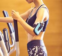 Wholesale Fitness Arm Bag Unisex Sport Running Cell Phone Bag Plus s Galaxy Series Nylon Arm Case Muitl Color Options