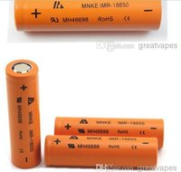 Cheap Electronic Cigarette mnke 18650 Best Battery  MNKE IMR18650