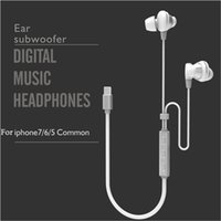 apple iphone deals - 2016 New Direct Deal Earphones for iPhone7 Cheap Digital Music Headphones AAA High Quality Ear Subwoofer