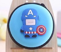 bamboo headsets - 2016 avengers allia Children Purse Printed Purse Popular Kids Zero Wallet Best headset package Christmas Gift For Baby Children Purse LQB23