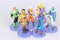 ball joints doll - Dragon ball z kids toys action figures dragonball super saiyan and goku Freeza Piccolo Gohan Joint anime Figure doll Set DHL toy