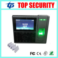 access control linux - Linux system zk face recognition time attending time clock with fingerprint reader access control system and RFID card reader