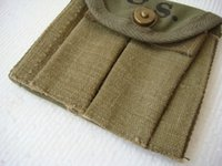 ammunition types - WWII U S TYPE M1 CARBINE AMMUNITION POUCH Q26337