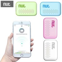 Wholesale High Quality Nut mini Smart Bluetooth Tracker one touch find bidirectional alarm location recorder four colors