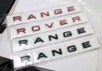 Car Styling machine Bonnet Autocollant métal pour LAND ROVER RANGE ROVER Evoque Freelander Badge Accessoires conception d'autocollant bon marché et imprimer