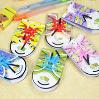 Wholesale 10 sets Cute Sticker Post It Bookmark Point It Marker Memo Flags Sticky Notes School Office Stationery Kid Gift Prize