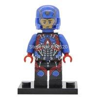 atom build - DC Atom Minifigures Building Blocks Super Heroes Sets Models Figures Bricks Toys