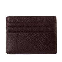 Wholesale 2016 New PU Leather Wallet Card Holder Wallet Credit ID Card Purse Women Men Credit Card Holder Case Y5