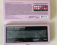 Wholesale 2016 New Brand New Pink modern Renaissance colors limited eye shadow palette pink version fashion item