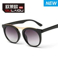 Cool gafas de sol en forma de mujeres Hombres Venta al por mayor rana espejo gafas de sol Accesorios de moda Partido fuentes de regalo Artículo No.96037