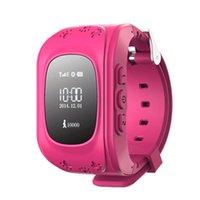 Precio de Dispositivo de niño perdido-2016 Hot Relojes Mujer Wearable Dispositivos Gps Smartwatch Wearable dispositivos Anti perdido G / M reloj inteligente niño SQ50 para niños.