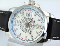 whites gmt - Debert mm Silver Stainless Steel Case White Dial Date GMT Automatic Men s Watch Best Gift For Men