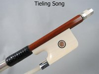 Wholesale Strong balance Professional master Pernambuco cello bow silver mounted