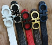 big brown belt - 2016 big buckle real leather belt original designer belts men high quality mens belts luxury men designer leather belt