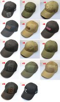 Wholesale Embroidery Tactical Combat Solider Cap baseball golf tennis Outdoor sports Hunting Fishing Cycling Camping Hiking Hats