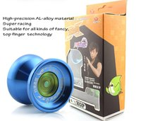 aerospace products - YONGJUN YOYO A Professional Getting started products Yo Yo Game specific Aerospace material KK bearing Silicone ring recovery