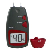 bamboo woodworking - Moisture Meter Wood Bamboo Pins Digital LCD Tester MD2G Timber Damp Detector