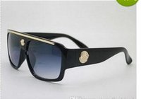 Wholesale new fashion UV Protection Italy Brand Designer Gold Chain Tyga Medusa Sunglasses Men Women Sun glasses