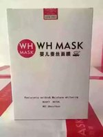 Wholesale WHMASK Baby Facial Mask Silk mASK Prettify Hydrating Mask Moisturize Mask For People At Any Age Pieces in Total