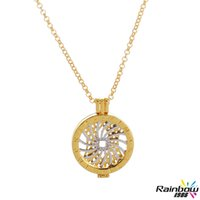 background borders - 2016 New Fashion Diy Jewelry Mi Moneda Love Necklace My Coin Imitation Gold Border Platinum Swirl with Background Pendant Necklace for Women