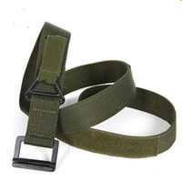 Wholesale Hot Selling Top quality Tactical Field Waistband Military Army Thicken Canvas Belt For Paintball Uniform Factory Direct