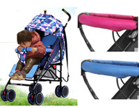 Wholesale Baby Strollers Handle Covers Removable Washable can Bite Stroller Accessories Organizer