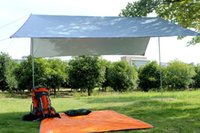 aluminum shade canopy - Portable Outdoor Camping Beach Picnic Pad Cushion Canopy Tent Shelter Sun Shade
