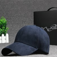 Wholesale Fashion Solid Color Suede Snapback Baseball Cap New Brand Outdoor Cap WinterAutum Hip Hop Flat Hat Casquette Bone Cap Men Women